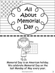 Kindergarten Memorial Day on Pinterest