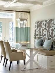 home decor, home design, dining room, mix, bench