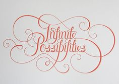infinite possibilities...yes!