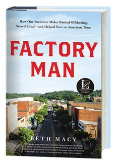 Don't miss Beth Macy, author of FACTORY MAN on NPR's Fresh Air.