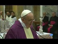 Homilia de hoy por el Papa