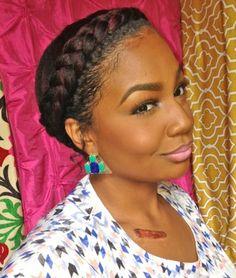 Goddess Braid On Pinterest