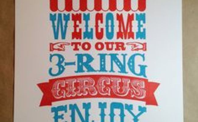 Three Ring Circus Party On Pinterest Food Trays Circus