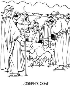 Joseph Goes To Prison Coloring Pages