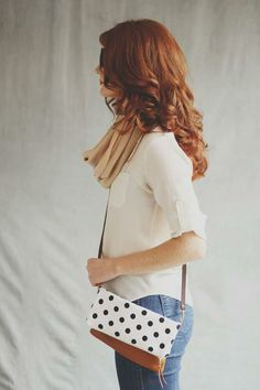Polkadot Crossbodies by Rouge & Whimsy