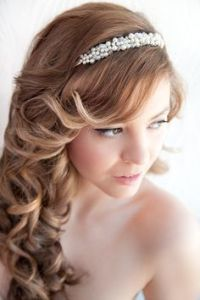 Bridal Hair Ideas on Pinterest
