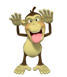 3d Wallpaper Dancing Monkey For Desktop Grandkids Are Special On Pinterest