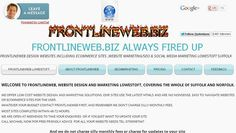 As a special promotion www.frontlineweb.biz are doing 4 page website for just £225 for 2 days only so be quick, price includes Free Domain name, Hosting ,and Full Website Design. Never to be repeated offer #suffolk #Lowestoft #Norwich #Norfolk