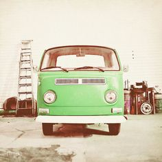 for the volkswagen lover in candy apple green!  www.dreamyphoto.etsy.com