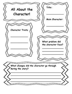 1st grade character traits on Pinterest