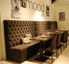 Eetkamer on Pinterest  Dining Nook Wooden Tables and Met