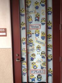 A minion reasons not to do drugs. | Classroom | Pinterest