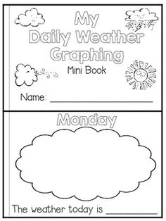 weather worksheet: NEW 710 PRINTABLE WEATHER JOURNAL FOR