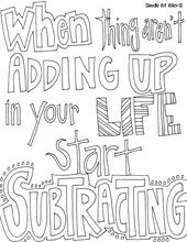 All Quotes Coloring Pages. QuotesGram