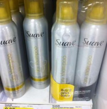 Suave Dry Shampoo. $2.89 Works amazingly for the price!