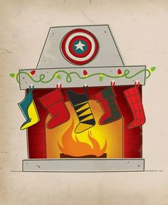 Christmas ® Avengers style
