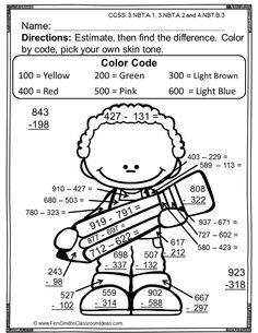 Fern Smith's Color Your Answers Printables on Pinterest