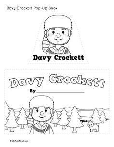 Davy Crockett Coloring Page Sketch Coloring Page