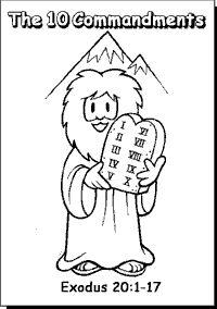 Lesson Plans: Bible: The Ten Commandments on Pinterest