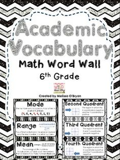 Academic: Academic Vocabulary Definition