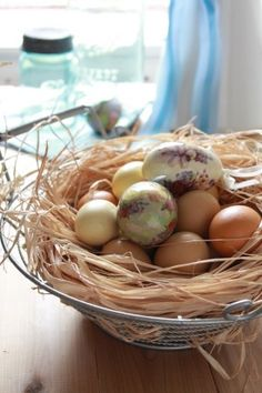 A DIY Easter Egg Centerpiece, 3 Ways
