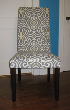 how to reupholster dining chairs replacement canopy for swing chair parsons on pinterest | chairs, and room