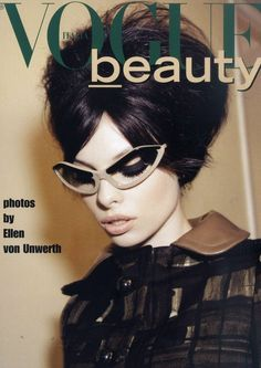 Vogue beauty - Prada glasses
