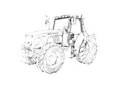 Kleurplaat Fendt 1050 Traktor Ausmalbild Ausmalbilder Von