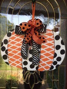 Pumpkin+Door+Hanger++Hand+Painted+Wooden++by+Christyscornerx3,+$30.00
