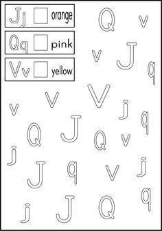 Kindergarten: ABC Letter Recognition on Pinterest