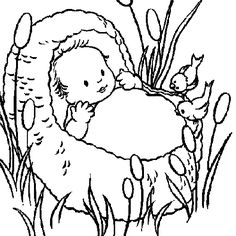 Colour-in pictures for Messy Church on Pinterest