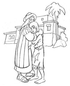 Coloring: Bible: NT: Gospels: Parables & Illustrations on