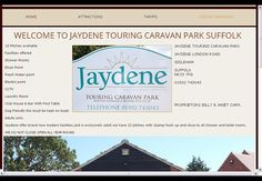 JAYDENE #TOURING CARAVAN PARK #SUFFOLK JAYDENE TOURING CARAVAN PARK SUFFOLK. WEBSITE DESIGN & MARKETING FRONTLINEWEB SUFFOLK. Go to link