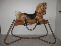 plush animal rocking chairs bedroom chair table set rockin horses on pinterest | horses, and christening cakes