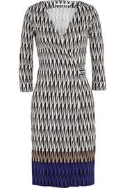 Diane von Furstenberg New Julian Two silk-jersey wrap dress Long sleeves