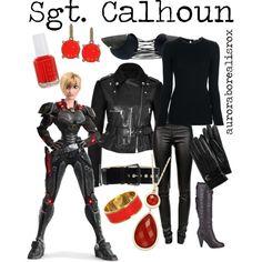 Fix it felix and sergeant calhoun costume