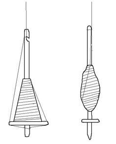 Drop Spindle Coloring Pages