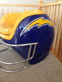 Helmet Chairs on Pinterest | Helmets, Miami Dolphins and ...