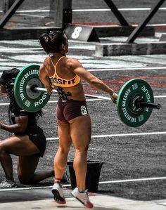 crossfitters:  Camille. Crossfit Games 2013. Photo by Josh Mirone.