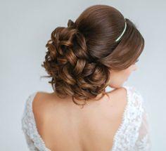 elegant wedding hairstyles on pinterest short updo wedding unique