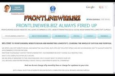 www.frontlineweb.biz Website Design/Designers #Suffolk