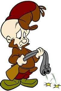 Elmer Fudd..that wascally wabbit<3