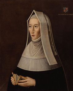 Margaret Tudor in a Steeple hood