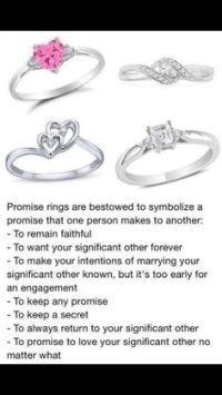 Promise Ring Poems And Quotes. QuotesGram