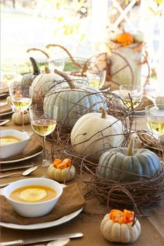 Beautiful for the Thanksgiving holidays or a fall dinner party