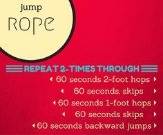 10 minute jump rope