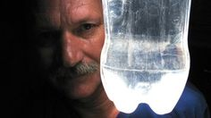 Alfredo Moser's invention is lighting up the world. In 2002, the Brazilian mechanic had a light-bulb moment and came up with a way of illuminating his house during the day without electricity - using nothing more than plastic bottles filled with water and a tiny bit of bleach. God bless him !