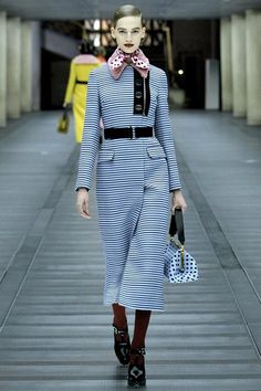 Miu Miu Stripe dress Calf length