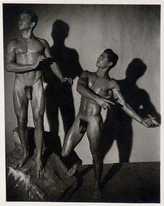 vintage male nudes in color