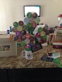 K-cup coffee bouquet | Craft Ideas | Pinterest